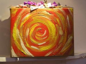 'Bearing Gifts.' Artwork: Advent Workshop, St. James Epicsopal Church. 2008